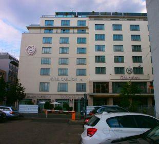 Vom kleinen Parkplatz Sheraton Carlton Hotel Nürnberg