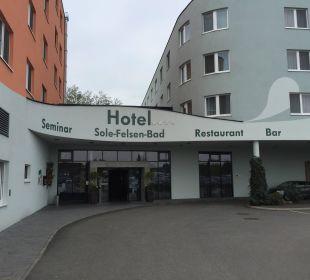 Von aussen Hotel Sole-Felsen-Bad
