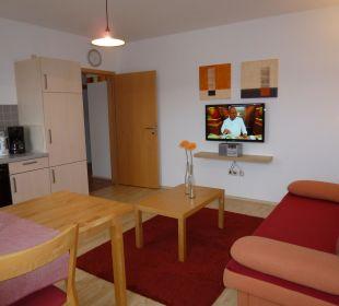 Ferienwohnung 7 Wohnküche Gästezimmer Fewos Familie Neubert