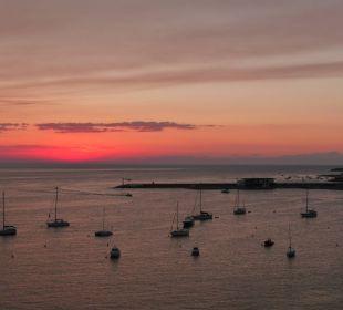 Sonnenuntergang vom Balkon Intertur Hotel Hawaii Ibiza