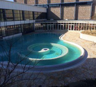 Außenanlage auch im März super. Baltic Sport- und Ferienhotel