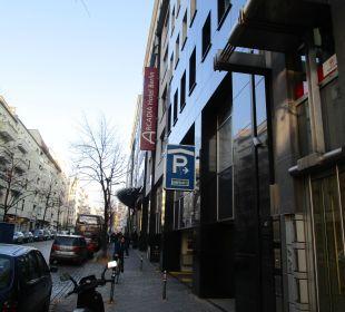Zugang Arcadia Hotel Berlin