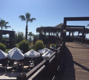 Brücke über Pool Sherwood Dreams Resort