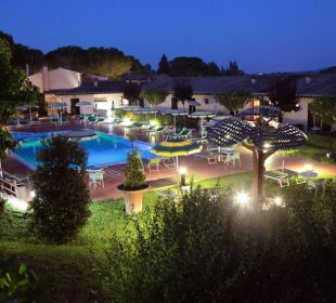Vista notturna Hotel Sovestro