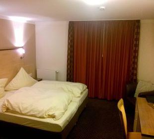 Betten im Comfort Zimmer