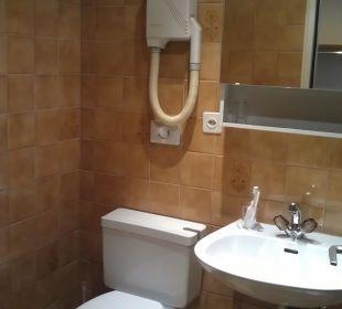 WC/Fön Hotel Les Arcades