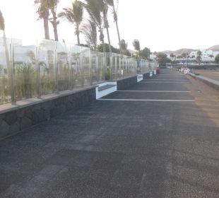 Weg zum Strand Hotel Las Costas