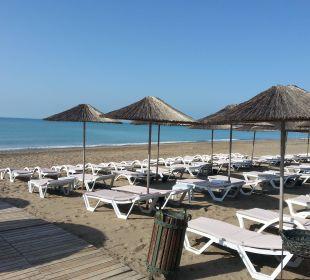 Blick über den Strand Siam Elegance Hotels & Spa