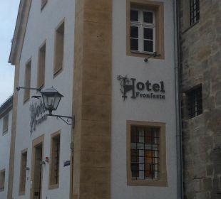 Haupteingang Hotel Fronfeste