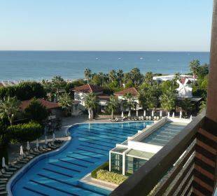 Schöner Blick vom Zimmer Hotel Alba Royal