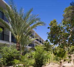 Gartenanlage Hotel Osiris