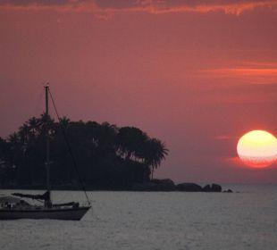 Sunset at Nai Yang Beach Hotel Dewa Phuket