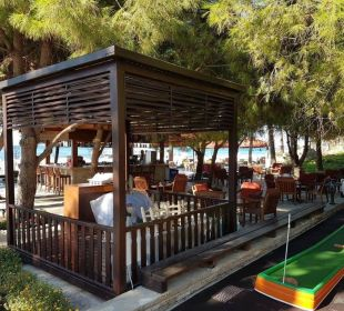 Gözleme an der Strandbar Barut Arum