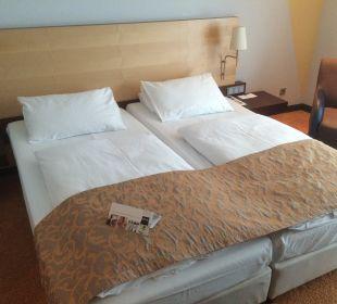 Doppelbett Hotel Dorint an der Messe Köln