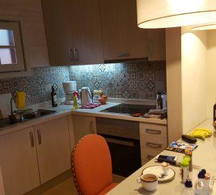 Kleine Küche mit allem was man braucht... Apartments Ambassador