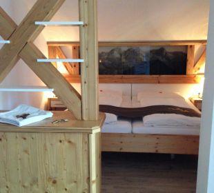 Schlafbereich Oberstdorfer Ferienwelt