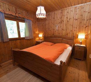 Schlafzimmer 1 Gramegger Hütte