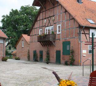 Hofansicht Familotel Landhaus Averbeck