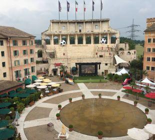Aussicht Doppelzimmer Hotel Colosseo Europa-Park