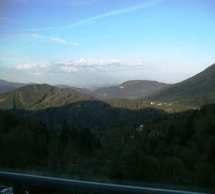 Blick aus dem Fenster Hotel Panhans