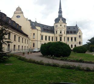 Blick auf das Schloss Schlosshotel Ralswiek