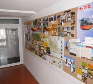 Infopoint im Gästehaus AKZENT Berghotel Rosstrappe