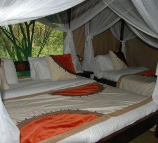 Kuschelige Betten Mara Bush Camp