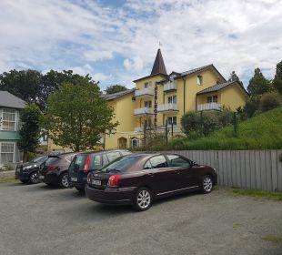 Außenansicht Inselhotel Rügen B&B