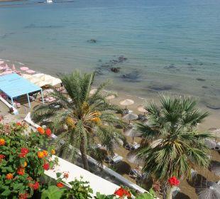Blick von der Dachterrasse Hotel Corissia Princess