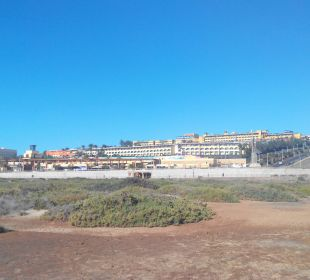 Resort aus Richtung Strand Hotel Barcelo Jandia Playa