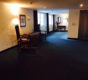 Meble na korytarzach Hotel Landhaus Alpinia