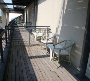 Großer Balkon Hotel Eden Lido Di Jesolo