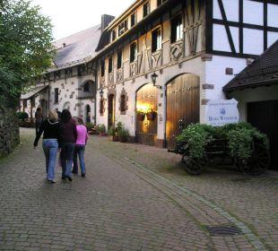 Innenhof Hotel Burg Windeck