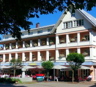 Hotel Mohren, Frontansicht  Hotel Mohren
