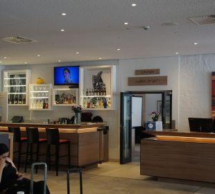 Lobby SORAT Hotel Saxx Nürnberg