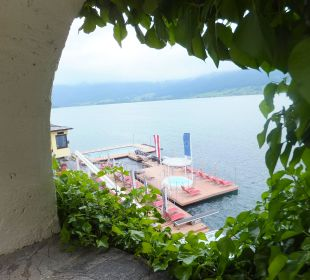 Blick auf den See Romantik Hotel Im Weissen Rössl