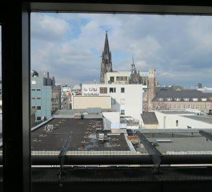 Blick aus dem Zimmer Dorint Hotel am Heumarkt Köln