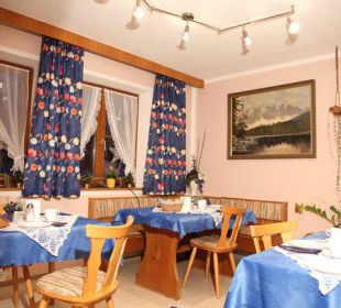 Frühstücksraum Haus Bergwind
