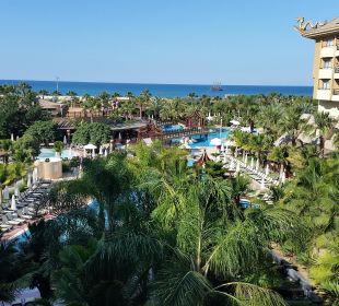 Blick vom Balkon  Hotel Royal Dragon