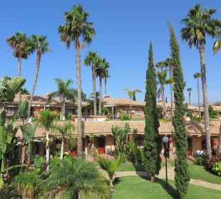 Die Anlage besteht aus zwei Ebenen Dunas Suites&Villas Resort