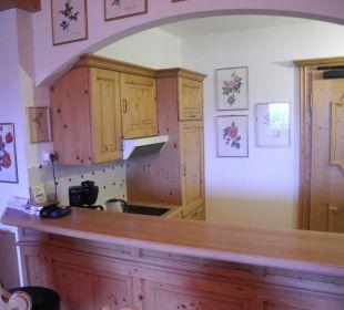 Blick in die Küche Hotel Sunneschlössli