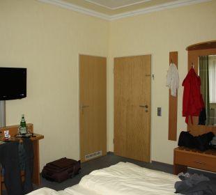 Flatscreen und Schank Hotel Bockelmann
