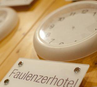 Faulenzeruhr Faulenzerhotel