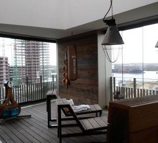 Saunabereich 25hours Hotel HafenCity