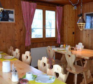 Frühstückssaal Gasthaus Alpina