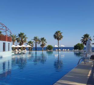 Blick auf dem Pool Oz Hotels Incekum Beach