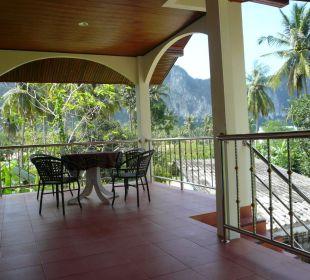 Blick in die weltbekannten Kalksteinfelsen Guest House Green Garden House