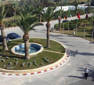 Ausblick zum Eingang Royal Lido Resort & Spa