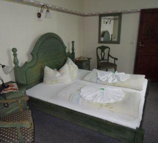 Unser gemütliches Zimmer Hotel Villa Alice