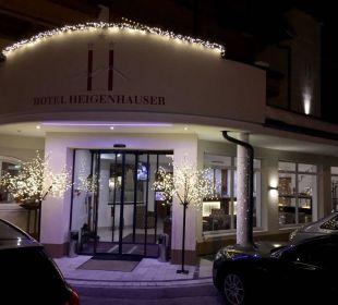 Abendbeleuchtung Hotel Heigenhauser